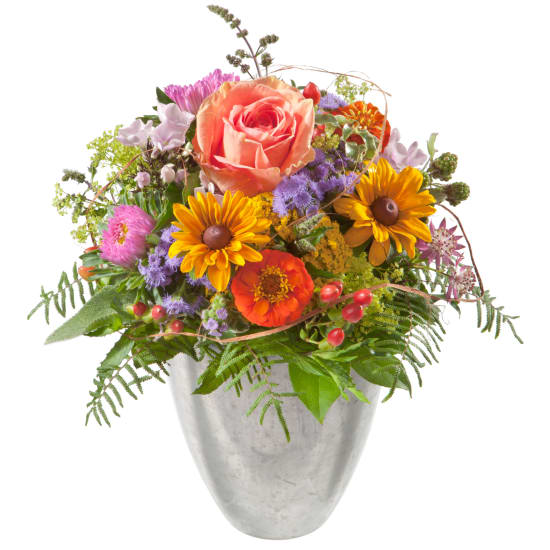 Petit messager fleuri