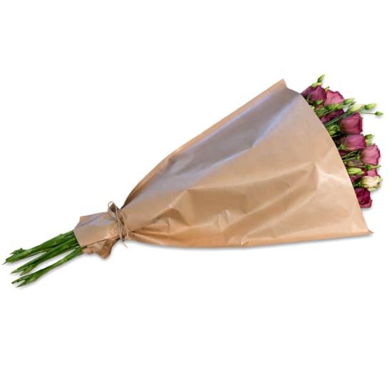 Fascio di lisianthus rosa