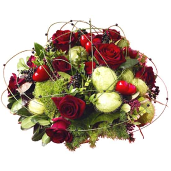 Blumen Arrangement<br>Liebe