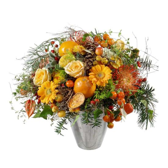 Natural Advent bouquet