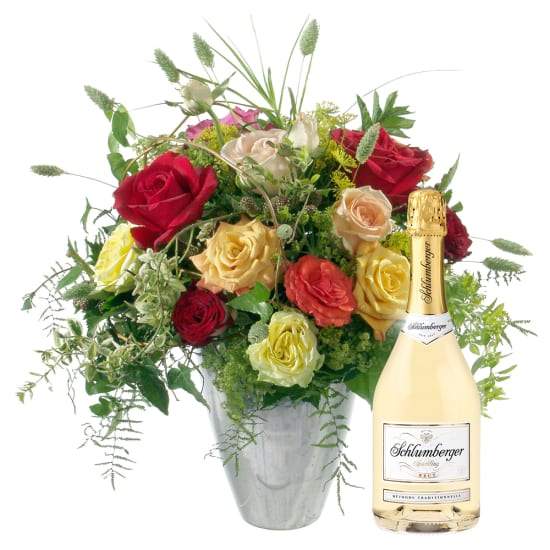 Fairy Tale of Roses with Schlumberger sparkling wine