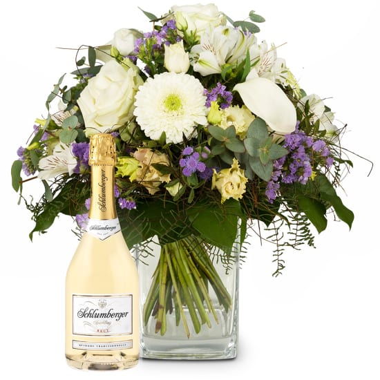 Simply Heavenly with Schlumberger Sparkling brut, 0,75 L