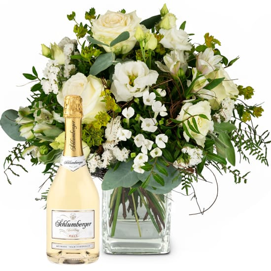 Natural Magic of Blossoms with Schlumberger Sparkling brut, 0,75 L