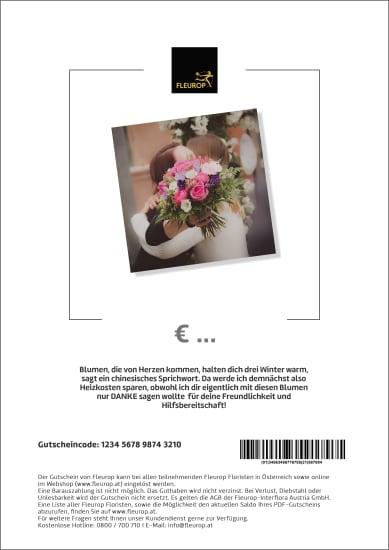 Geschenkgutschein «Danke» (PDF)