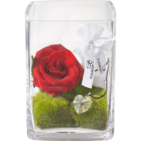 Per il mio tesoro, con cuore in cristallo Swarovski®