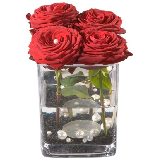 Roses 4 YOU inkl. Vase
