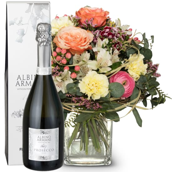 For the favorite person with Prosecco Albino Armani DOC (75cl)