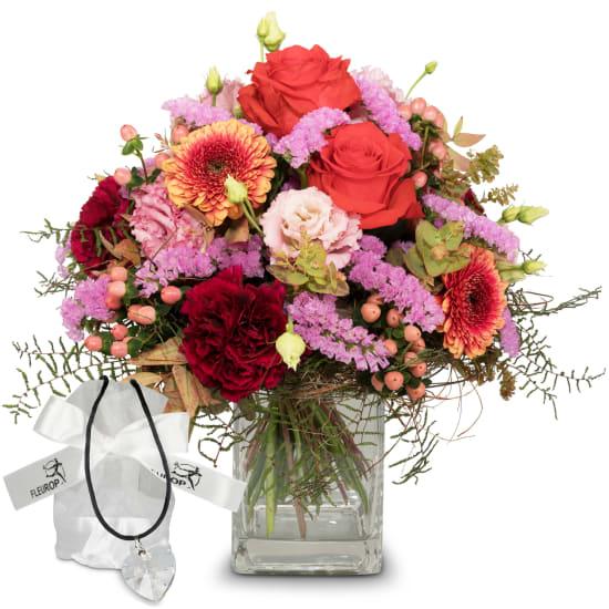Colorful Wishes avec cœur en cristal Swarovski®