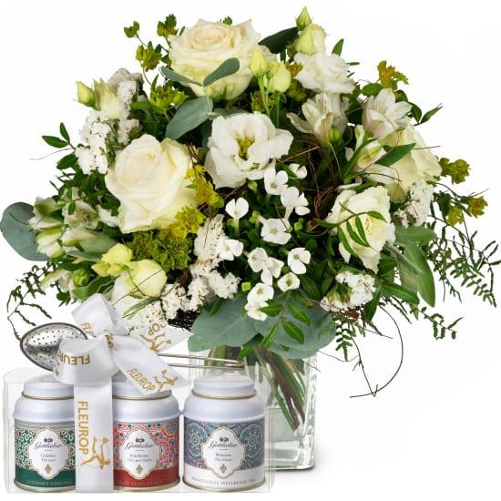 Natürlicher Blütenzauber mit Gottlieber Tee Geschenk-Set