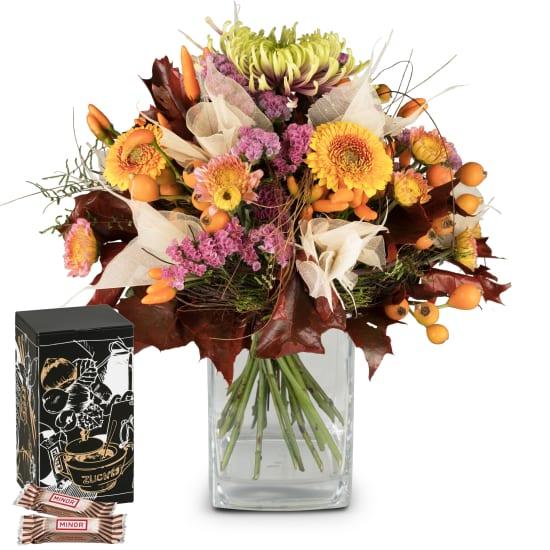 Autumn Beauty avec Minor Split dans une boîte cadeau tendance