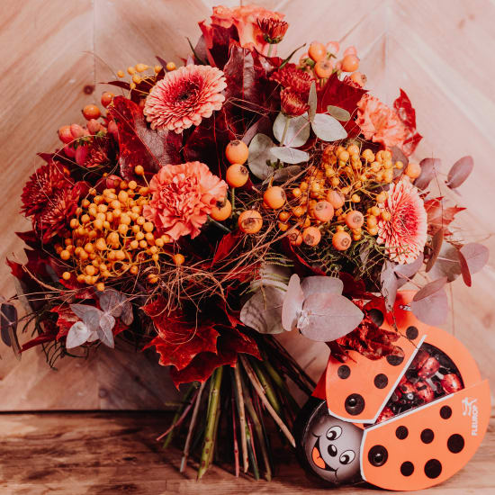 «Fall is in the Air» created by a Master with chocolate ladybird