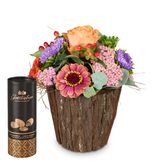 Little Surprise with Gottlieber cocoa almonds