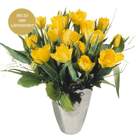 Bouquet of Tulips in Yellow