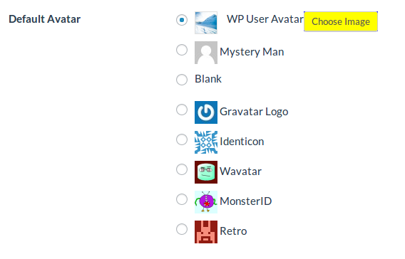 How to set default avatar image? – WP User Avatar Pro