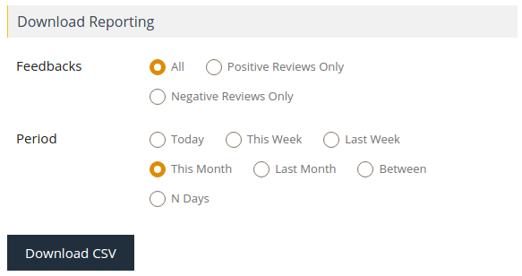 Download Feedback Reviews