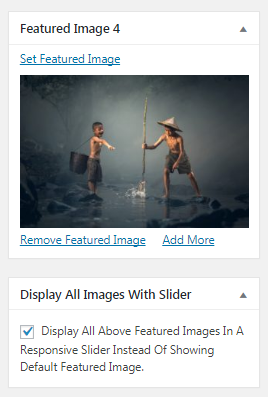 Show Featured Images Slider Automically