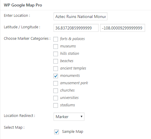 How to display posts content in google maps Wpmapspro