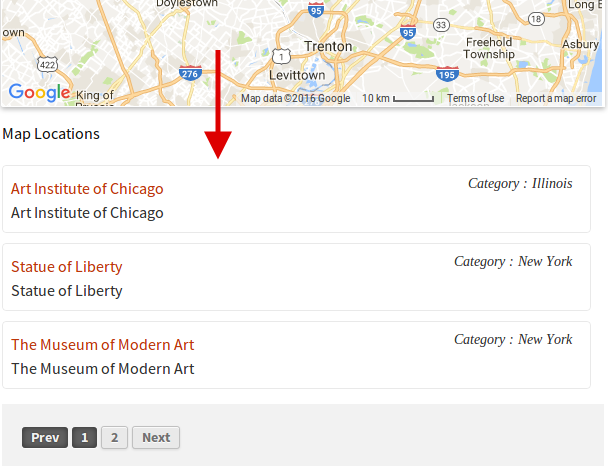 Per Page Location Map Wpmapspro