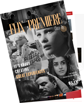 Flix Premiere Close Up - August Issue