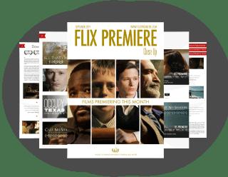Flix Premiere Close Up Magazine - September 2019