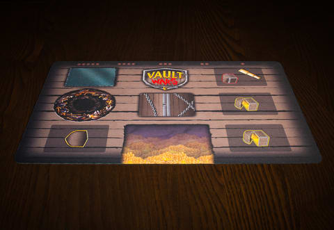 Vault Wars Playmat
