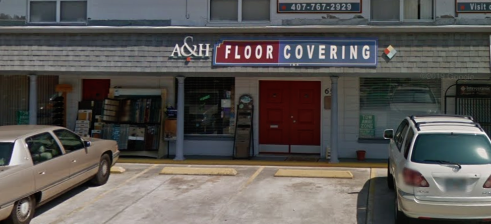 A & H Floor Covering store front