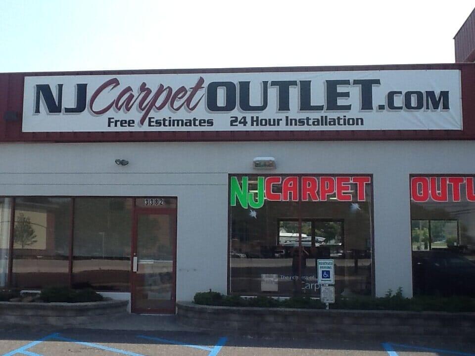 NJ Carpet Outlet store front