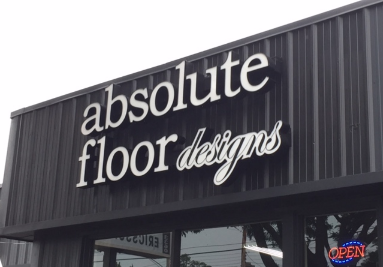 Absolute Floor Designs store front