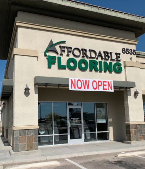 Affordable Flooring & More store front