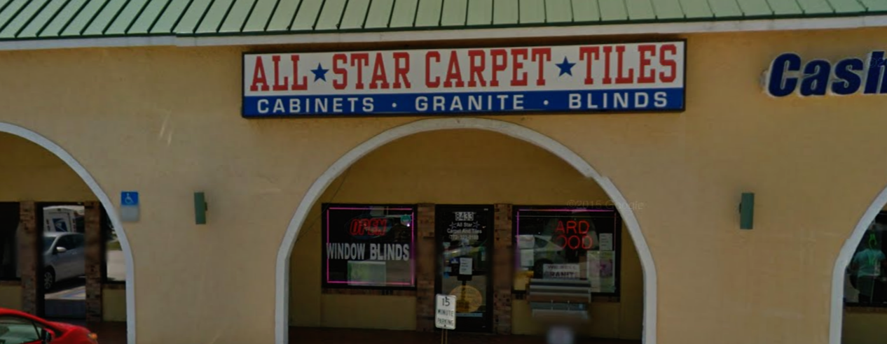 All Star Carpet And Tiles store front