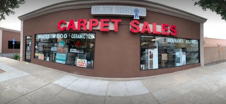 Blue Ribbon Carpet Sales, Inc. store front