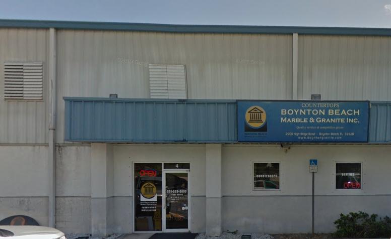 Boynton Beach Marble & Granite store front