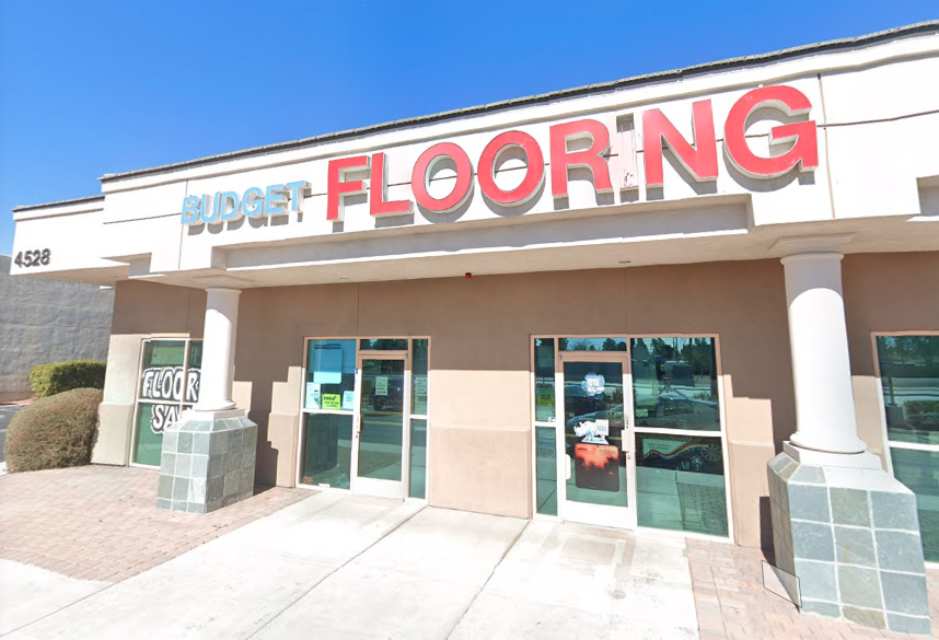 Budget Flooring store front