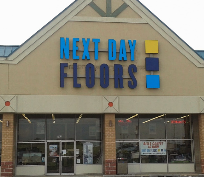 Next Day Floors store front