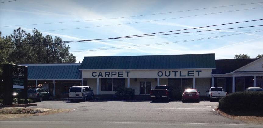 Carpet Outlet INC. store front