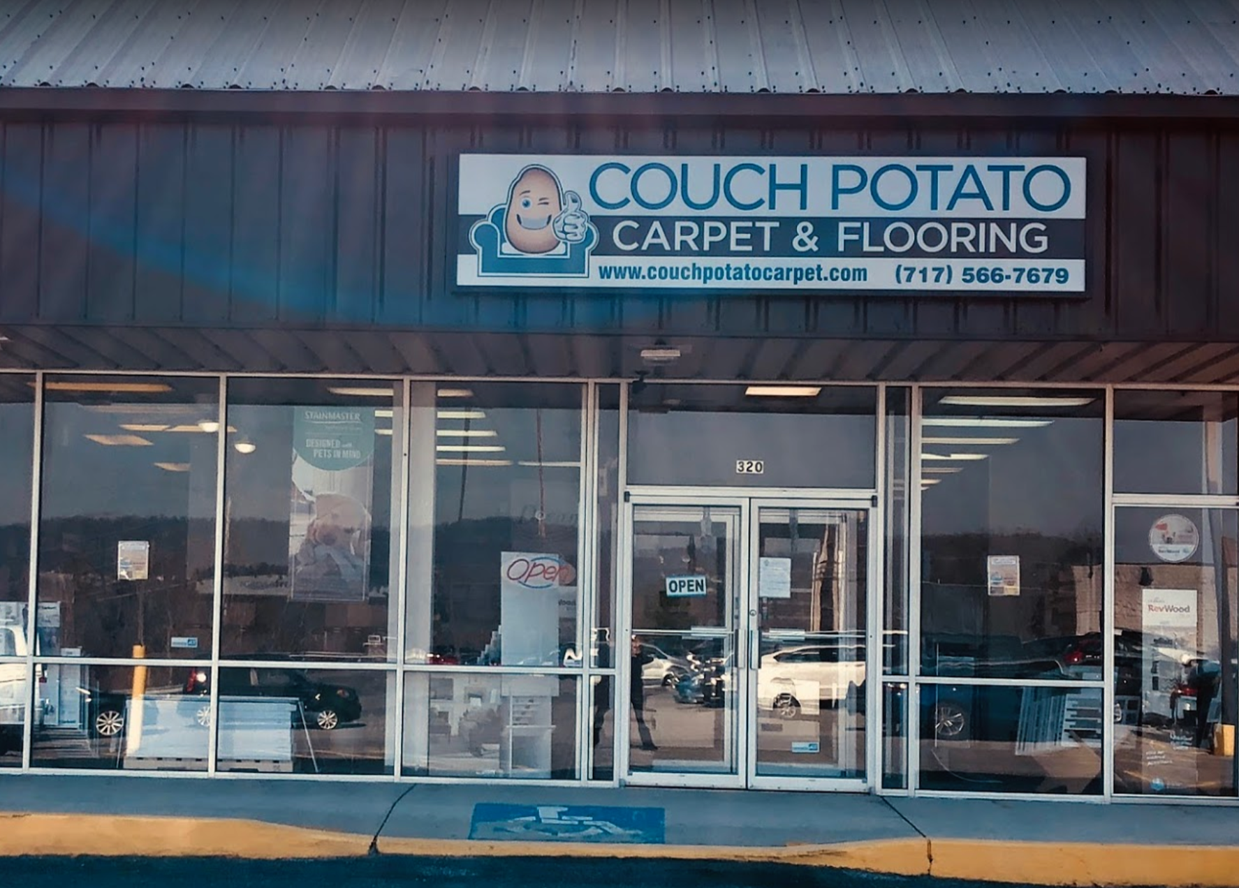 Couch Potato Carpet And Flooring store front