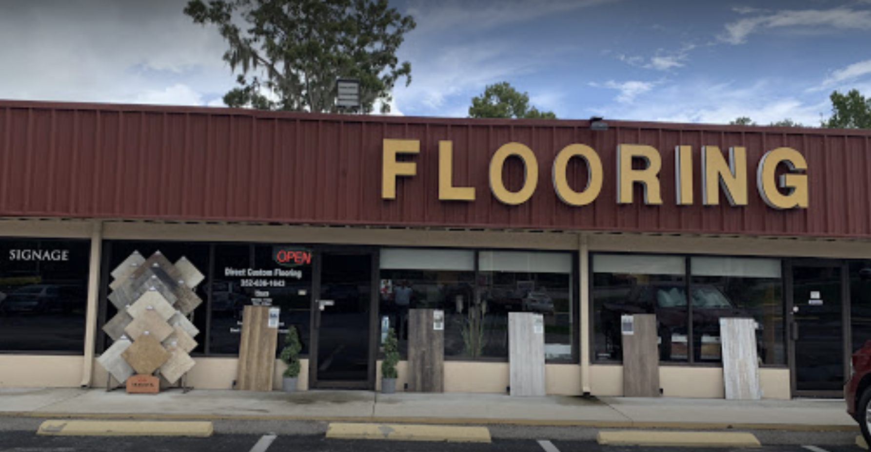 Direct Custom Flooring store front
