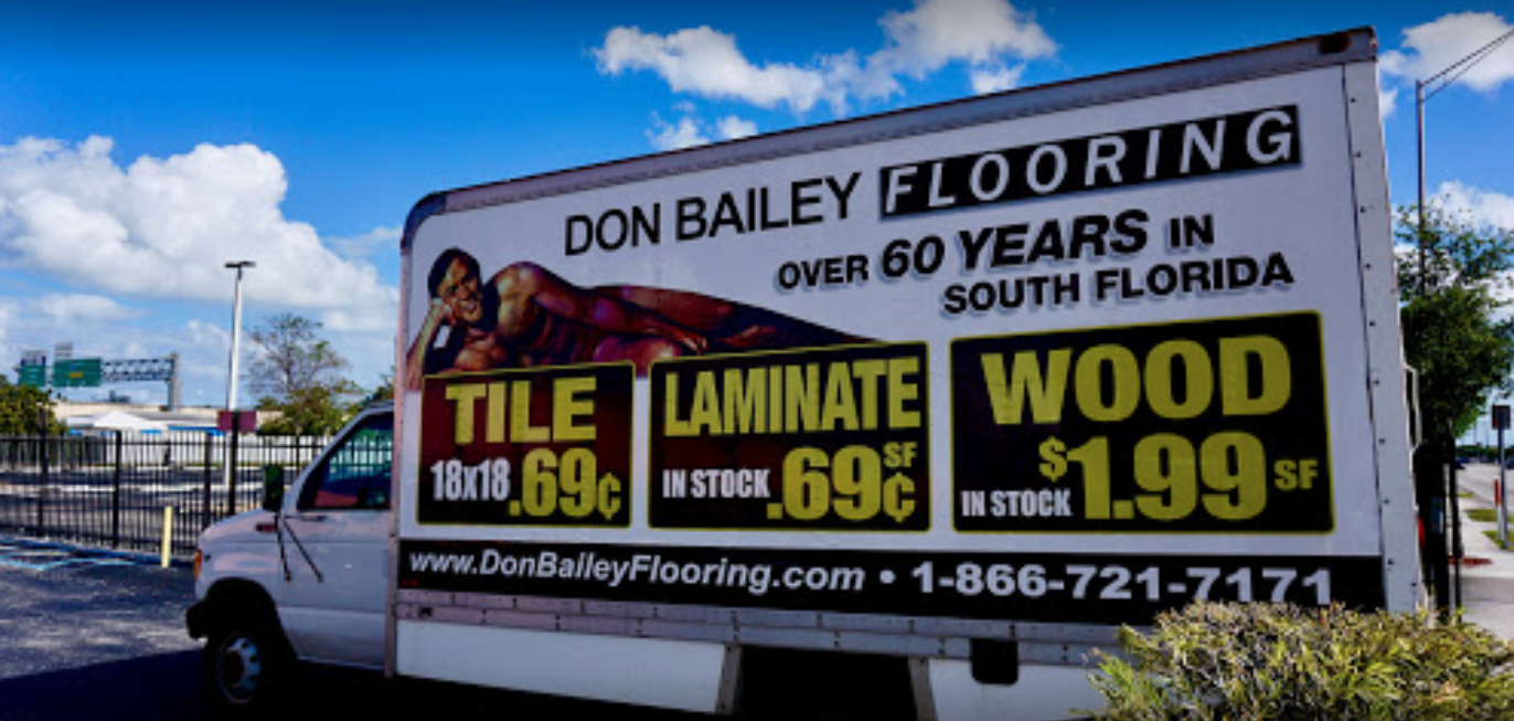 Don Bailey Floors store front