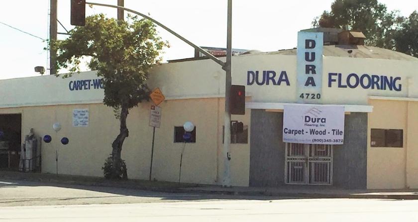 Dura Flooring store front