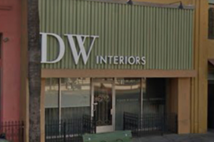 DW Interiors, Inc. store front