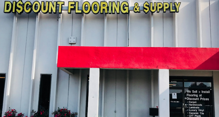 Discount Flooring & Supplies store front