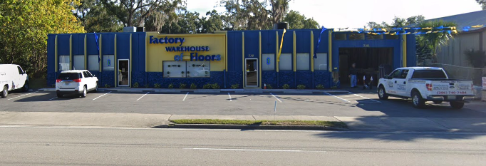 Factory Warehouse Of Floors store front