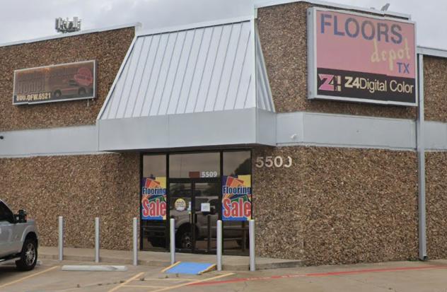 Floors Depot TX store front