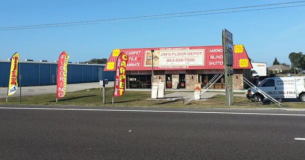 Picture of the store