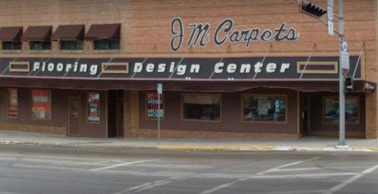JM Carpets store front