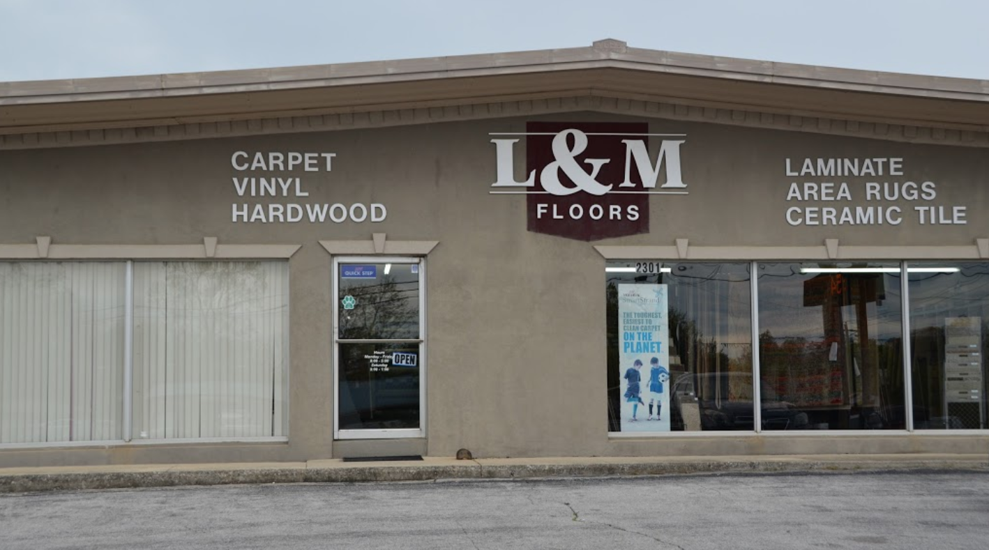 L&M Floors store front