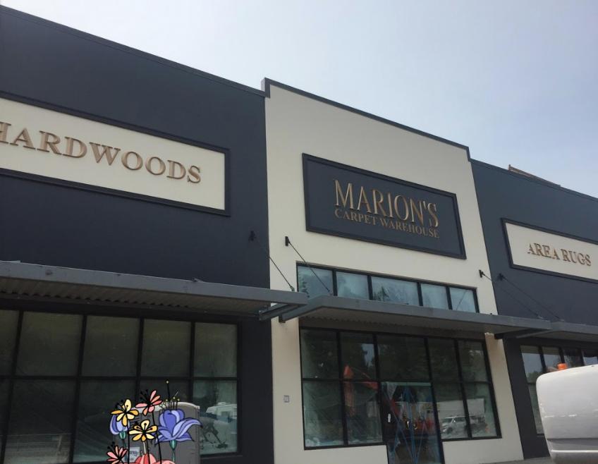 Marion's Carpet Warehouse store front