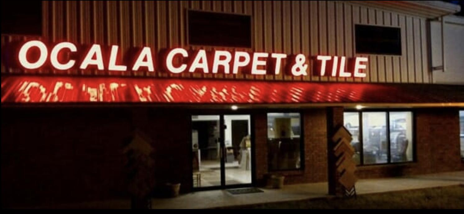 Ocala Carpet & Tile store front