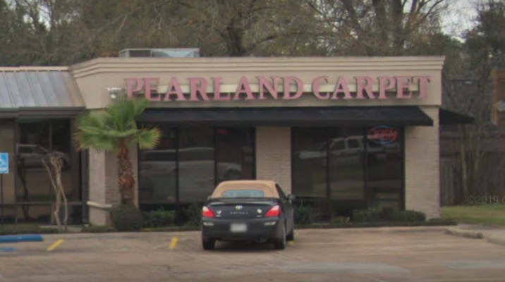 Pearland Carpet and Flooring store front