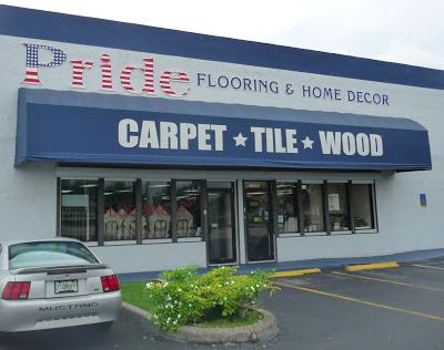 Pride Flooring & Home Decor store front
